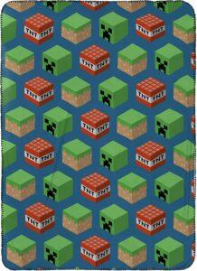 Minecraft Travel Blanket