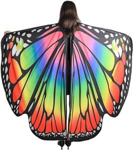 Butterfly Wings Shawl Cape
