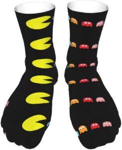 Pac-Man Crew Socks