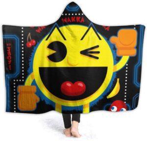Pac Man Hooded Blanket