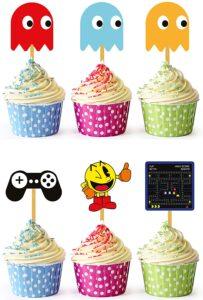 Pacman Cupcake Topper