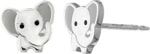 Elephant Animal Stud Earrings