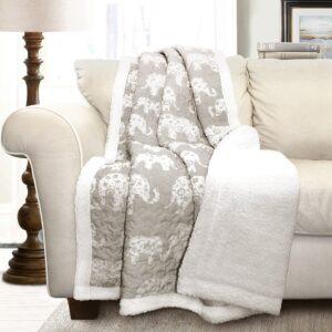 Elephant Sherpa Blanket