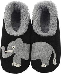 Women's Elephant Slippers