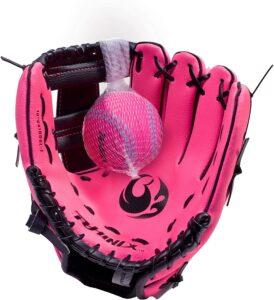 Baseball Glove & Ball For Kids