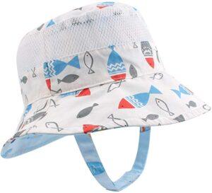 Boys Bucket Hat Fish Gift