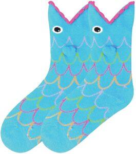 Children's Funny Fish Socks Gift Idea