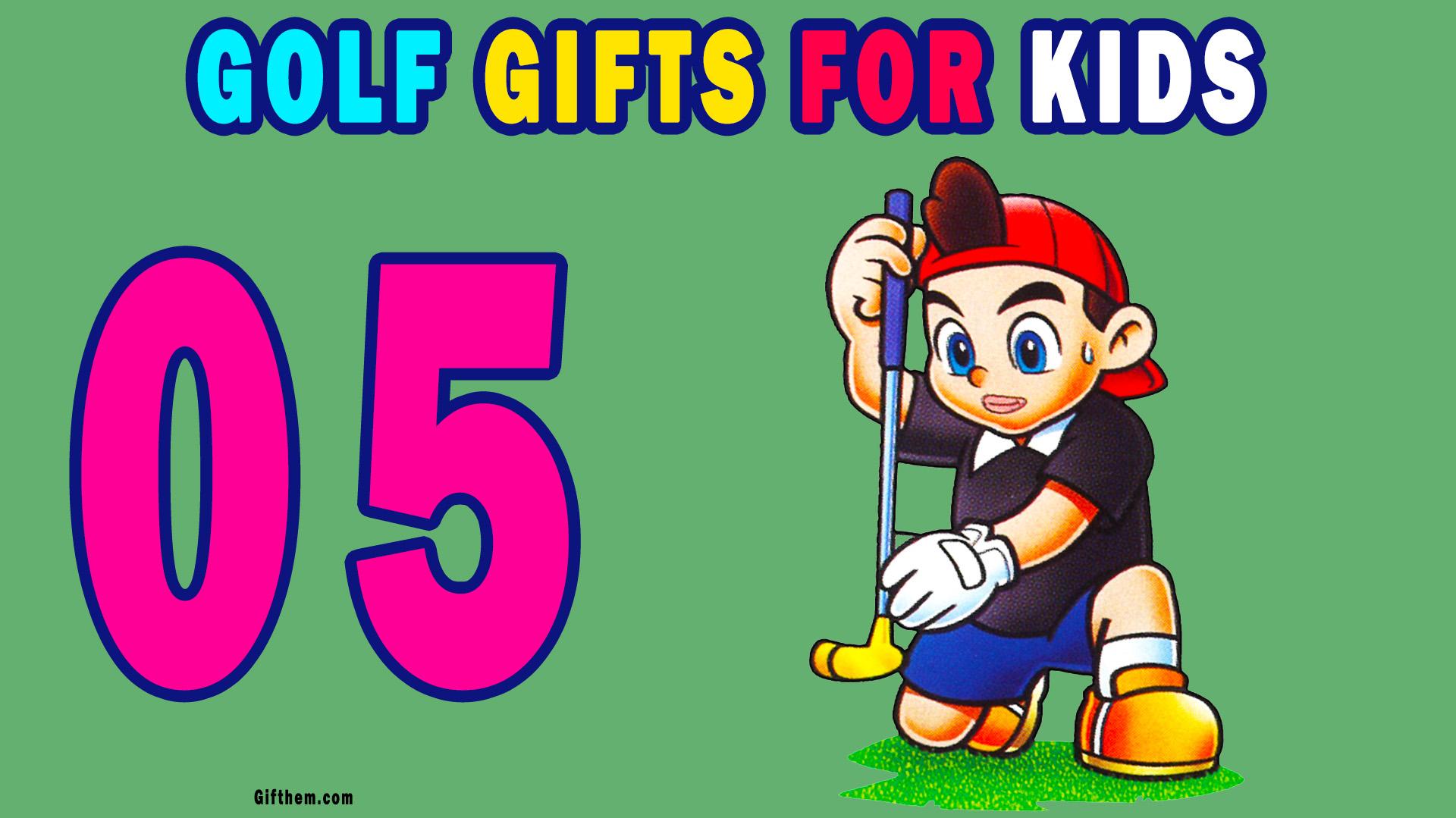 Golf Gifts For Children