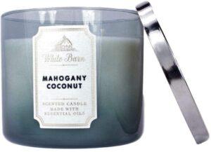 Mahogany Coconut Scented Wax