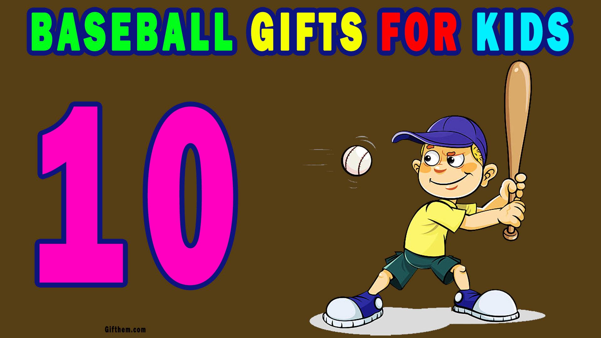 Unique Baseball Gift Ideas For Kids
