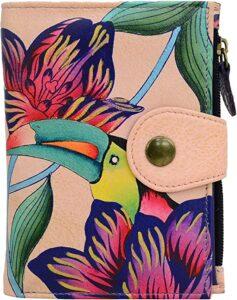 Women's Leather Toucan Wallet