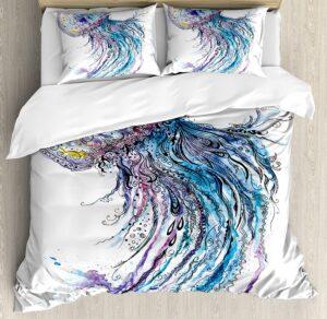 Jellyfish Duvet Cover Set