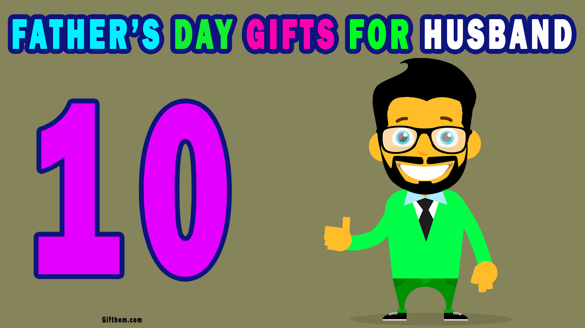 Fathers Day Gifts For Husband