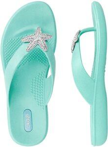Women's Starfish Flip Flops
